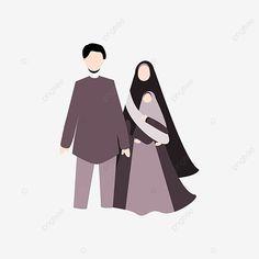 Family Illustration, Cute Illustration, Black And White Cartoon, Cute Muslim Couples, Islamic Cartoon, Muslim Family, Hijab Cartoon, Girl Background, Working Mother