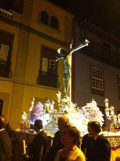Cristo de la Laguna,Tenerife. Procesión de madrugada