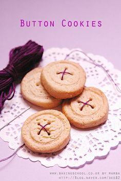 단추 쿠키