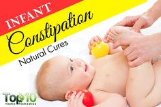 Prev post1 of 3Next Constipation, especially in infants, is a difficult problem to treat. It is also heartbreaking for parents to see their babies in discomfort or pain. The normal amount of bowel movements that an infant passes depends on his or her age and what he or she is eating. An infant suffers from