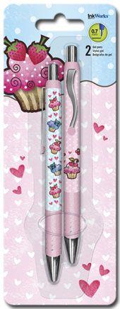 Cupcakes - Gel Pens