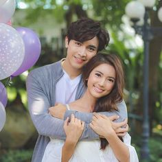 tra barb see chompoo cast Classy Couple, Cute Love Couple, Perfect Couple, Best Couple, Photo Poses For Couples, Cute Couples Goals, Couple Goals, Live Action, Dramas
