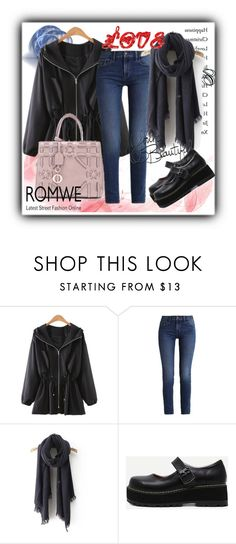 """""""ROMWE 5"""" by aida-1999 ❤ liked on Polyvore featuring Calvin Klein and LIST"""