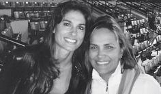 Ana Lucía Sterling y Gabriela Sabatini