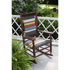 Dixie Seating Woolrich Blanket Furniture Rocking Chair | Wayfair