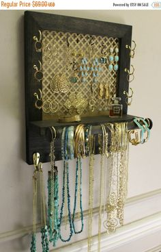 Jewelry holder at Hobby Lobby Love and need Wish List