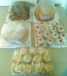 A selection of everyday cakes.