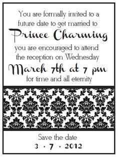 """LDS Young Women's Activity - """"Husband/Temple Time Capsule"""" Printable & Customizable Invitation"""