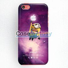 Despicable Me Minion Catch Samsung Logo In Dr Who Tardis iPhone 5C Case   casefantasy