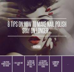 #Nails [ more at http://nails.allwomenstalk.com ]  #Remover #Color #Make #Lasting #Excess