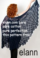 I have the perfect lace weight yarn for this-got to get the pattern.
