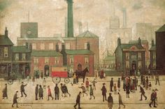 Coming Home from the Mill Art - LS Lowry