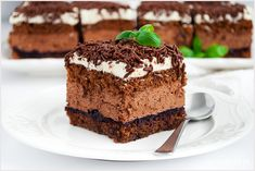 Ciasto Michałek - I Love Bake Polish Cake Recipe, Food Cakes, Chocolate Desserts, Cheesecakes, Tiramisu, Cake Recipes, Nutella, Food And Drink, Apple