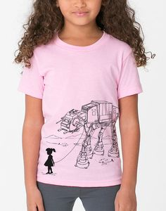 I am so buying this for Ruby, one day she will get it.  My Star Wars ATAT Pet  Toddler / Youth American by EngramClothing, $20.00