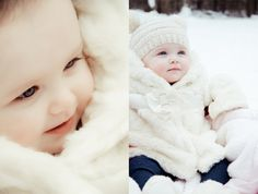 winter baby. #child #photography