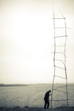 kleidersachen:   Tim Johnson, Sky ladders    a hidden potentiality