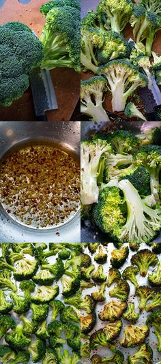 Roast Broccoli Make Ahead Meals, One Pot Meals, Easy Meals, Fall Recipes, Yummy Recipes, Potato Dishes, Sliced Almonds, Sweet And Spicy, Side Dish Recipes