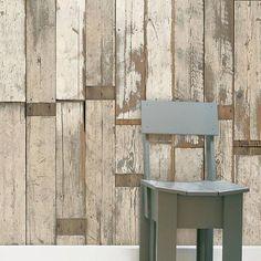 scrap wood wallpaper 02 by house interiors & gifts | notonthehighstreet.com