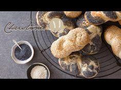 Zutaten für 10 Stück: 500 gWeizenmehl 700 10 g Salz 10 g Backmalz (auch Gersten- oder Weizenmalzmehl genannt) 10 g Germ 290 g lauwarmes Wasser Food And Drink, Creative, Youtube, Sandwich Loaf, Breads, Yarn Braids, Youtube Movies