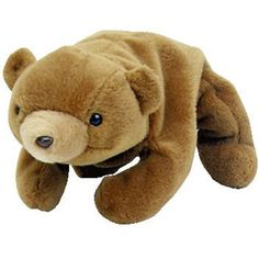 fc4a36a55b2 TY Beanie Baby - CUBBIE the Brown Bear (4th Gen hang tag) (8.5 inch)