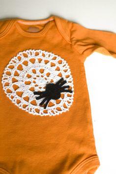DIY halloween onesie