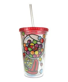 Look at this Gumball Machine 16-Oz. Tumbler on #zulily today!
