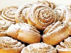 Skořicovo-ořechoví šneci Low Carb Desserts, Low Carb Recipes, Healthy Recipes, Low Carb Lunch, Low Carb Breakfast, Low Carb Brasil, Carb Day, Low Carb Bread, Sweet Tooth