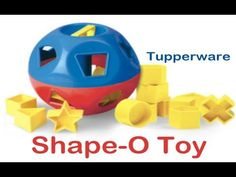 Independent Tupperware Consultant, Crystal Dunn tells you all about the classic Shape-O Toy from Tupperware. To purchase a Shape-O Toy or other Tupperware pr.