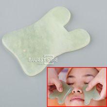 New Gua Sha Guasha Face Massage Beauty Tool Chinese Natural Jade Health Cure //Price: $US $4.60 & FREE Shipping //