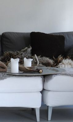 Loppelilla's Winter Decor at Home in Norway | Remodelista