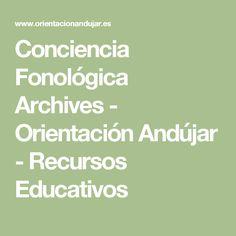 Conciencia Fonológica Archives - Orientación Andújar - Recursos Educativos