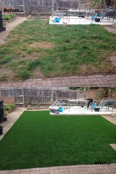 No more patchy, clumpy grass. Just clean, Supreme, Trulawn #artificialgrass