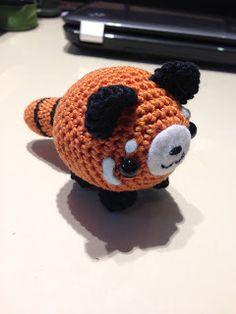 Ravelry: Red Panda Micro Mini Amigurumi pattern by Andrea Blumberg | 314x236