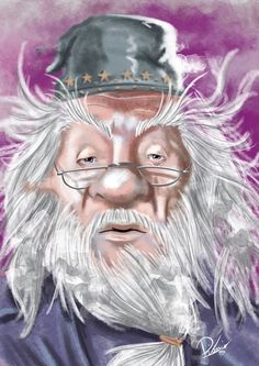 Michael Gambon In The Role Of Albus Dumbledore