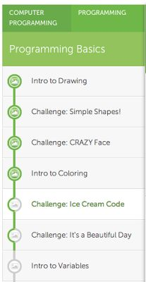 Khan Academy Computer Science: Launch: Introducing Programming Challenges