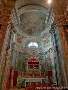 Ghislarengo (Novara, Italy) - San Felice chapel in the Church of Beata Vergine Assunta