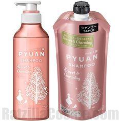 Merit PYUAN Sweet & Charming Shampoo: silicon free