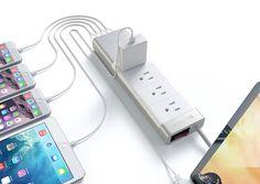 Satechi 4 USB Port Power Strip - Madeofmillions.com