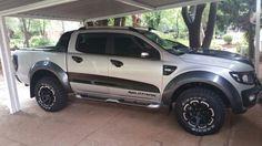 Ford Ranger Wildtrak in full Raptor guise...
