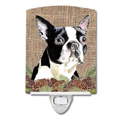 Caroline's Treasures Polyester 40 x 28 in. House Flag Dog Breed: Boston Terrier (White and Black) Wooden Flag Pole, Flag Decor, House Flags, Print Artist, Garden Flags, Yorkie, Dog Breeds, Black And Brown, Burlap