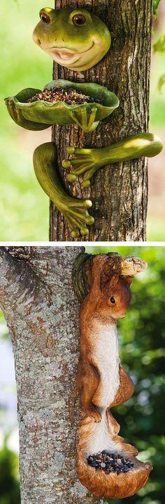 Hanging Tree Bird Feeder | SO cute!