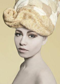 """Louise Walker Photography - WOOLY HEAD  """"KnitWear Hair"""""""