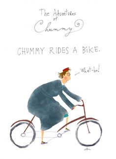 "The Adventures of Chummy Nurse Chummy (Miranda Hart) from the series ""Call The Midwife""...artwork by Jana Christy..."
