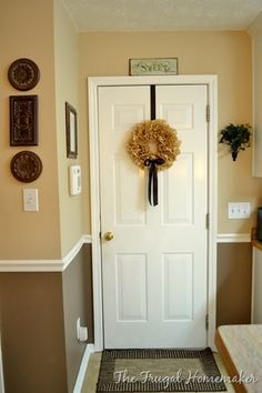 Day 17–Add some wainscoting to your home