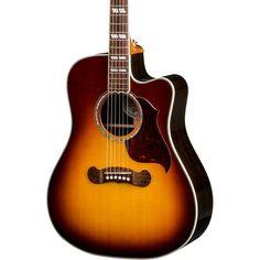 Gibson 2018 Songwriter Studio EC Burst Acoustic-Electric Guitar Rosewood Burst Beautiful Guitars, Music Mix, Acoustic Guitar, Music Instruments, Studio, Electric, Top, Instruments, Musica