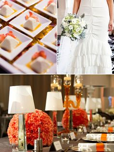 Mod...dresses, invitations and table designs, mod touches and bold, graphic prints -- reminiscent of the spring collections from A-list designers Marc Jacobs and Michael Kors -- give wedding elements the perfect creative bent for 2013.