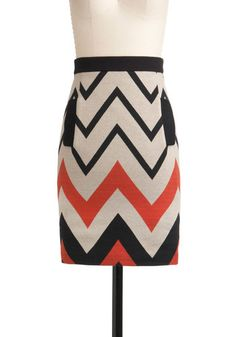 Plenty by Tracy Reese For the Journey Skirt  This is such a cute skirt, but wow...I don't think I could ever spend that much money on a skirt...  $177.99  #ModCloth