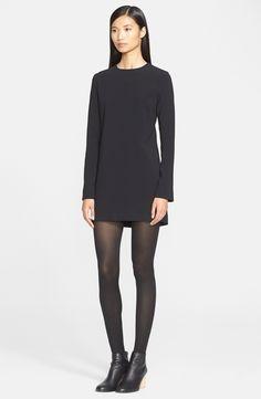 Helmut Lang Stretch Woven Shift Dress