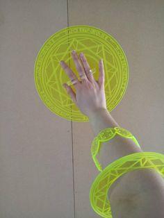 Dr Doctor Strange Marvel Magic Rings Spell Casting Plastic