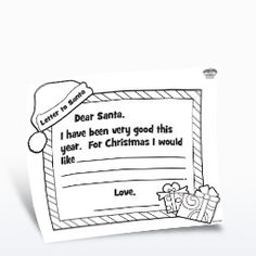 Free Printable - Dear Santa